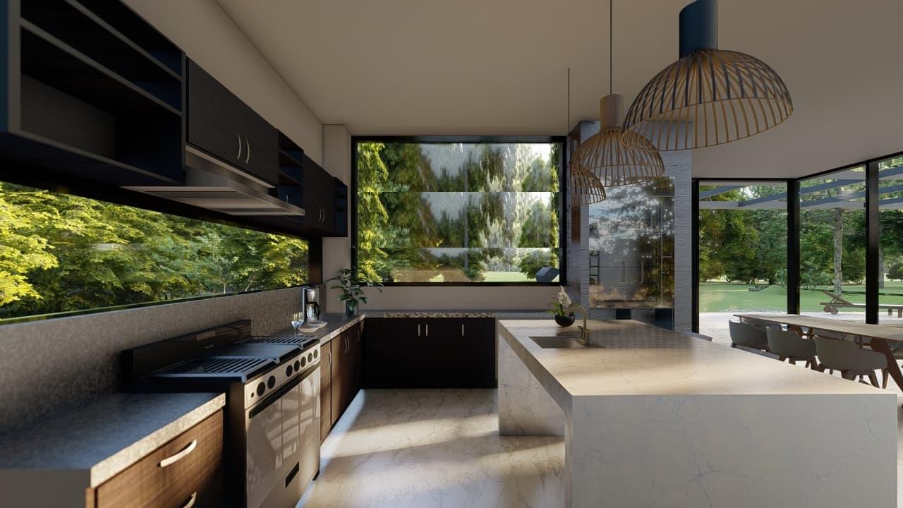 Kitchen render 2021