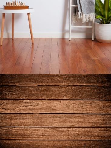 wooden flooring style